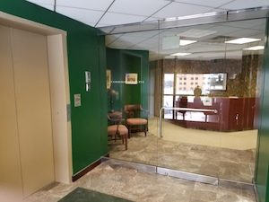 Elevator Entry from Lobby