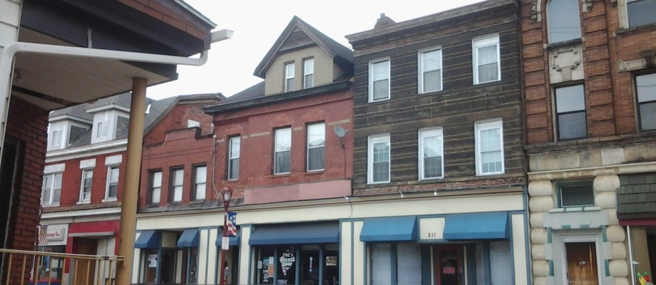 207-209-211 BROWNSVILLE ROAD PITTSBURGH – Retail/Office & Apartment Buildings For Sale – Mt. Oliver