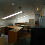 2nd level office space with kitchenette