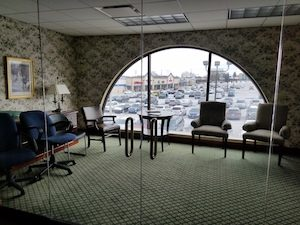 Office Space For Lease - Glass office